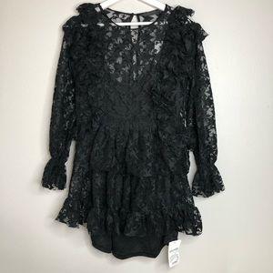 Storets black lace dress